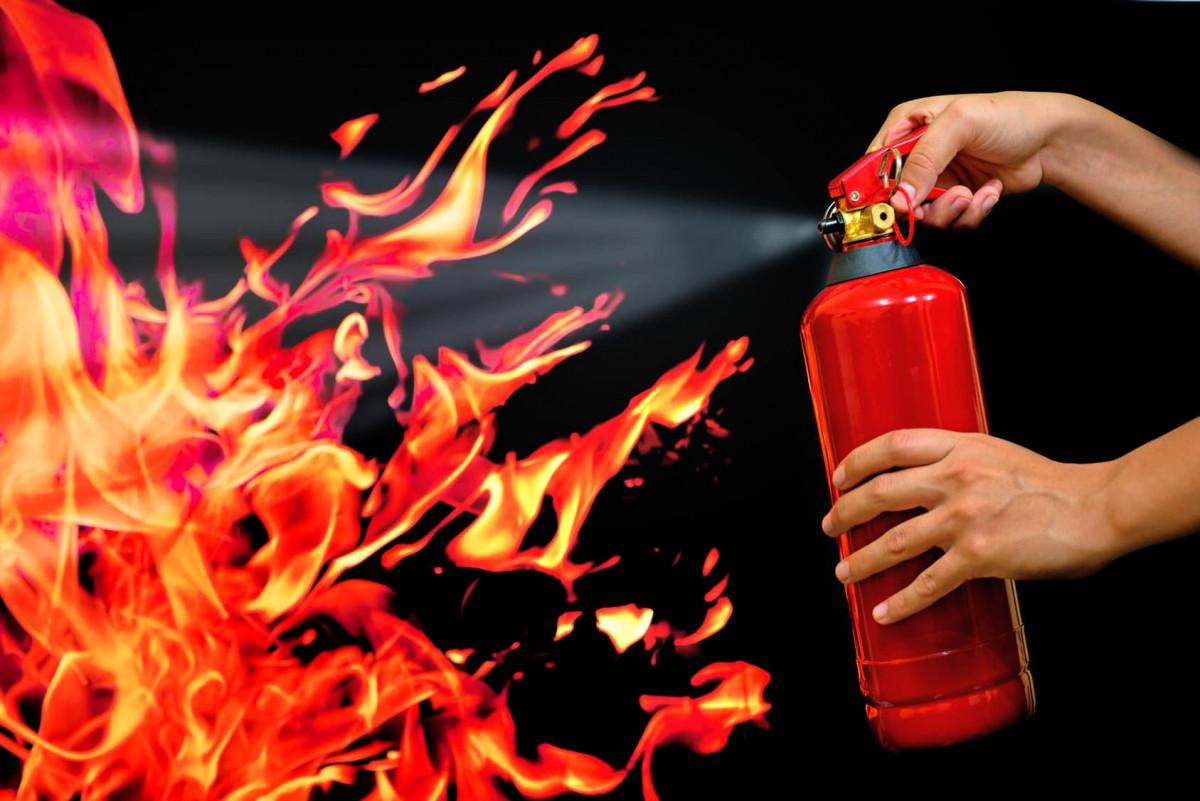 Extinguish fire